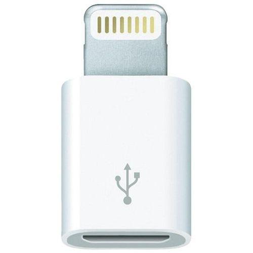 Adapter Apple MD820ZM/A, do iPoda, iPhone'a, iPada, micro USB => Lightning (5/5S/5C)
