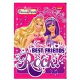 Zeszyt Barbie A5 w linie 32 kartki Best friends