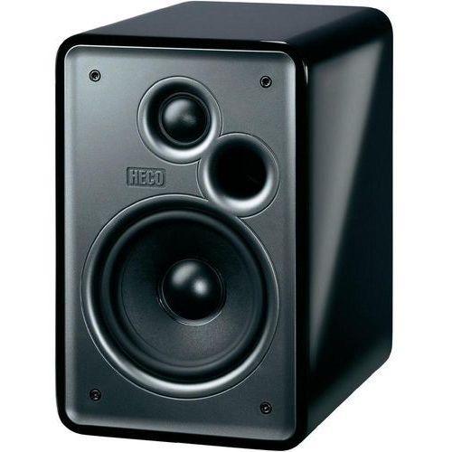 Głośnik regałowy, HECO Music Colors 100, 120 W, 4-8 Ohm, 38-35000 Hz, czarny, para