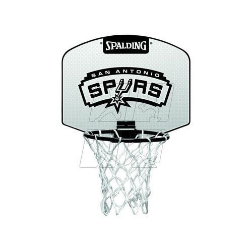 Mini tablica SPALDING San Antonio Spurs z piłką