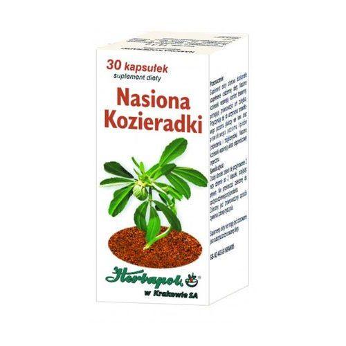 Nasiona Kozieradki kaps. 30 kaps.