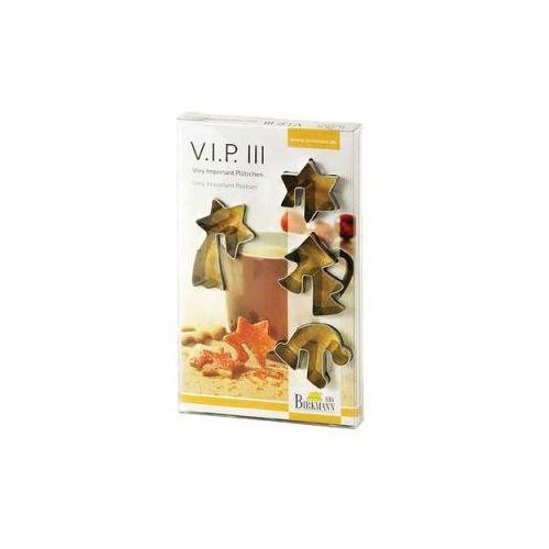 4 Foremki do wykrawania ciastek Birkmann VIP III