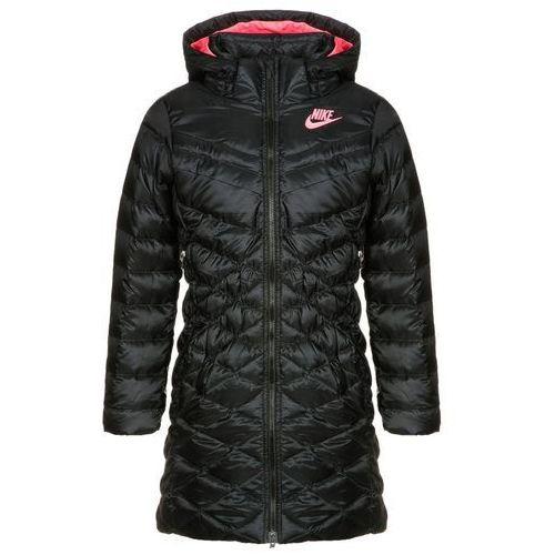Nike Performance CASCADE Płaszcz zimowy black/hyper punch