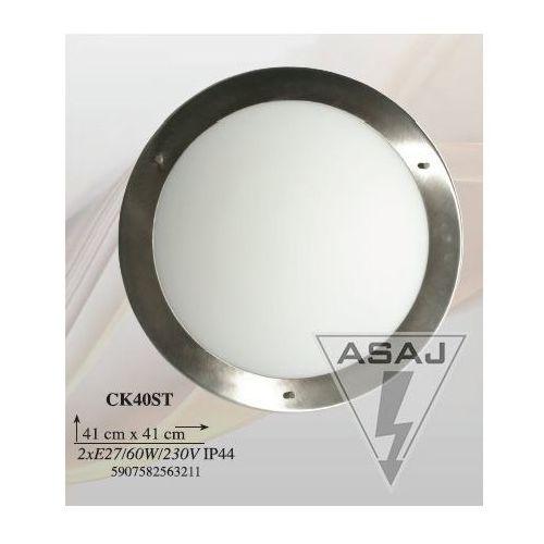 PLAFON AQUILA4 / NANDO40 2X60W E27 SATYNA NIKIEL CK40ST