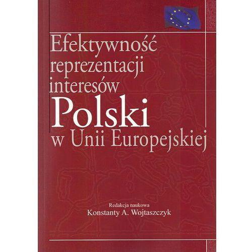 Efektywność reprezentacji interesów polski w Unii Europejskiej [opr. miękka]