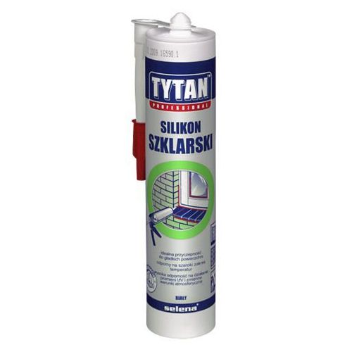 Tytan silikon szklarski bezbarwny 310 ml