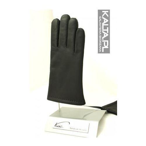 Ciepłe rękawiczki skórzane zimowe, męskie
