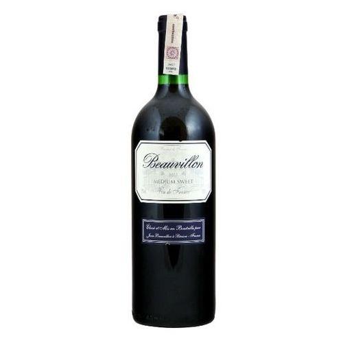 BEAUVILLON 1l Wino francuskie czerwone półsłodkie