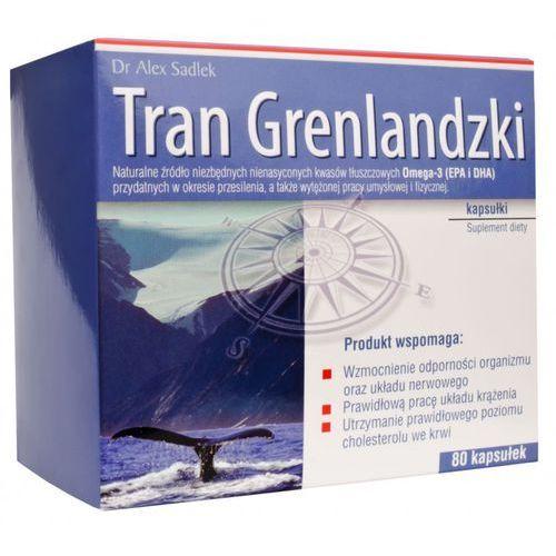 Tran Grenlandzki kaps. - 80 kaps.